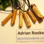 Hand carved Sacred Oghams Wands and Necklaces